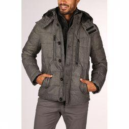 Tom Tailor Coat 1012121 Light Grey Mixture
