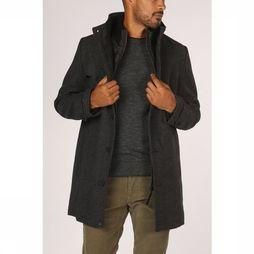 Tom Tailor Coat 1012125 mid grey/Assortment Geometric