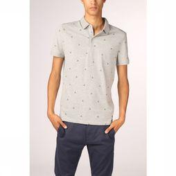 Tom Tailor Polo 1015800 Light Grey Mixture/Assortment Geometric