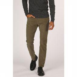 Tom Tailor Trousers 1013722 dark khaki