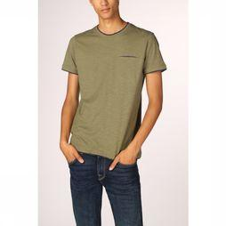 Esprit T-Shirt 089Ee2K011 light khaki
