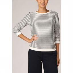 Tom Tailor Pullover 1017277 Marine/White