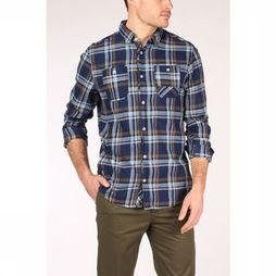 Tom Tailor Shirt 1016063 dark blue/camel