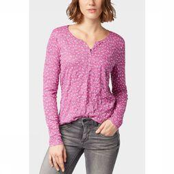 Tom Tailor T-Shirt L1005914 Fuchsia/Off White