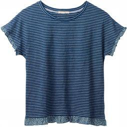 White Stuff T-Shirt Bright Sunshine indigo/Blanc Cassé