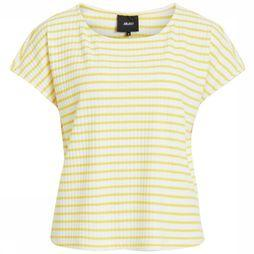 Object T-Shirt Elisa Ss Pb5 white/mid yellow