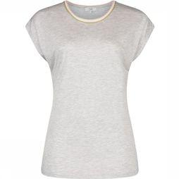 CKS Women T-Shirt Emerika Light Grey Mixture