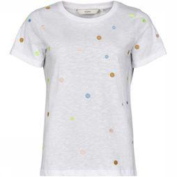 Numph T-Shirt Nualbinia Wit/Assortiment