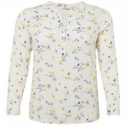 Tom Tailor Blouse 1008833 Blanc Cassé/Assortiment Fleur