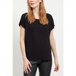 Object Blouse Bay Ss Urban Top Zwart