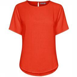 B.Young Blouse Byhailey O-Neck Rouge Moyen