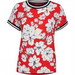 B.Young Shirt Bypanya T Shirt 3 mid red/Assortment Flower