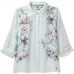 White Stuff Shirt Tanami Print white/Assortment Flower