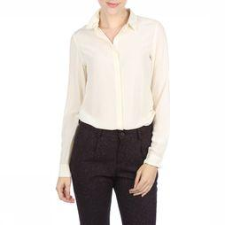 Lanius Shirt Seidenbluse off white