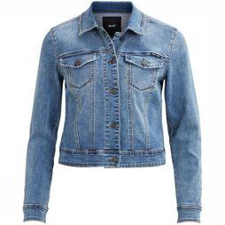 Object Blazer Win New Denim Bleu Clair