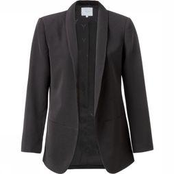 Yaya Blazer W.Smocked Sleeve black