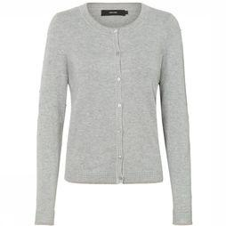 Vero Moda Cardigan Vmclair Glory O Neck Light Grey Mixture