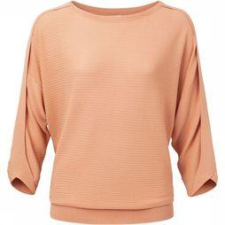 Yaya Pull Basic Batwing Knit Ss Rose Clair