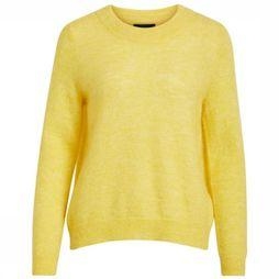 Object Pullover Nete Ls Knit O Neck Seasonal mid yellow