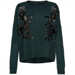 Only Pullover Maluka Ls Knit dark green