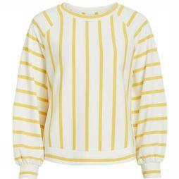 Object Pullover Billie Jean Sweat off white/mid yellow