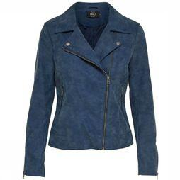 Blazer Onlsaga Faux Leather Biker