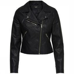 Blazer Onlvigga Faux Leather Biker