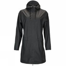 Rains Manteau W Coat Noir