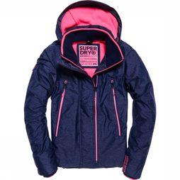 Superdry Coat Tech Velocity Sd-Windcheater Marine/Mid Pink
