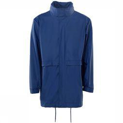 Rains Jas Long W  Middenblauw