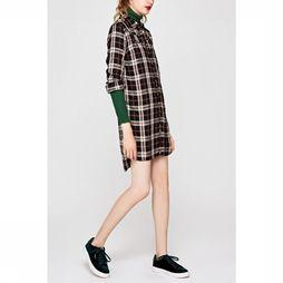 Dress Alona Rayon Soft Check