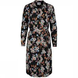 CKS Women Dress Dorias black/Assortment Flower
