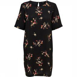 Only Dress Onlnove Lux black/Assortment Flower
