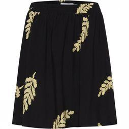 Ichi Skirt Ihjaimee Sk black/light yellow
