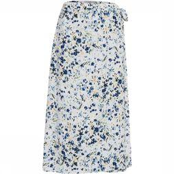 Ichi Skirt Ihcannap Sk white/Assortment Flower