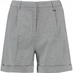CKS Women Shorts Narina off white/light grey