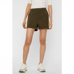 Vero Moda Short Maya Me Mr Loose Solid Kaki Moyen