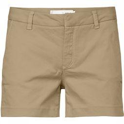 Yaya Short Chino Twill Short Zandbruin