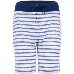 Supernatural Broek W Waterfront Bermuda Printed Wit/Donkerblauw