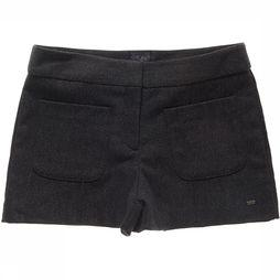 Superdry Pantalon Tweed Nordic Short Gris Foncé