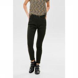Only Broek blair Mid Skinny Ankle Pant Lichtkaki