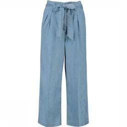 CKS Women Trousers Snorway light blue