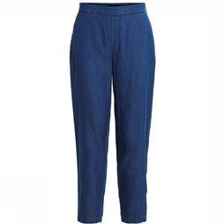 Object Trousers bina Cecilie Mw 7/8 mid blue