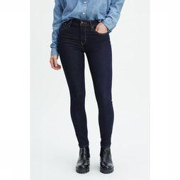Levi's Jeans 721 High Rise Skinny Donkerblauw