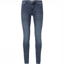 Yaya Jeans Basic Skinny 5-Pocket Jeans With Stretch mid blue