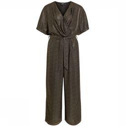 Object Jumpsuit hollie 3/4 Zwart/Goud