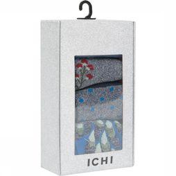 Ichi Kous So Box 4 Pack Middenblauw/Donkerblauw