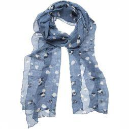 Scarf Rib With Nature Dot Print