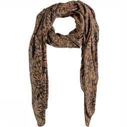 Pieces Scarf ikova Long mid brown/black