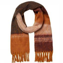 Pieces Scarf janet Long rust/light pink
